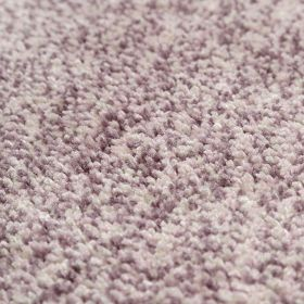tapis rose clair shaggy relaxx esprit