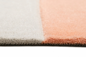 tapis runway morning blush / spring orange esprit