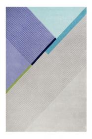 tapis xaz cool noon / summer gris et bleu esprit - wecon