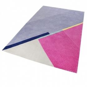 tapis xaz cool noon / summer bleu et rose esprit - wecon