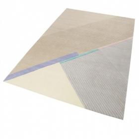 tapis xaz cool noon / summer beige et gris esprit - wecon