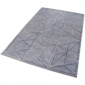 tapis evening shade function gris - esprit home
