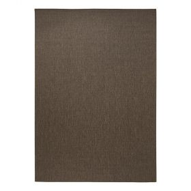 tapis moderne marron resort sisal style esprit home
