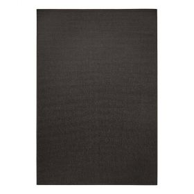 tapis moderne resort sisal style noir esprit home