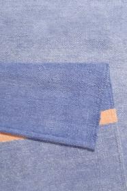tapis calippo kelim cool noon / summer bleu esprit - wecon