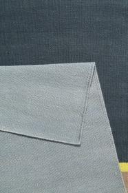 tapis evening shade midas kelim gris et anthracite - esprit