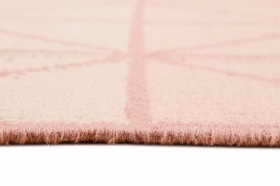 tapis winter noora kelim rose - esprit