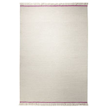 tapis flashing up esprit home écru et rose