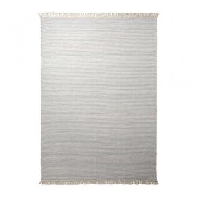 tapis gris esprit home en laine misty