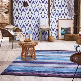 tapis nomad en laine esprit home nuit noire