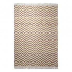 tapis orange esprit home en laine vector