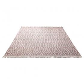 tapis en laine vector rouge esprit home