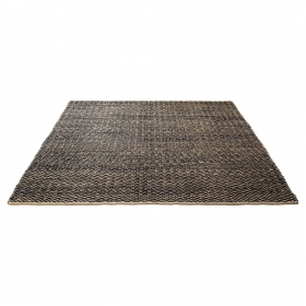 tapis brun en laine esprit home patna