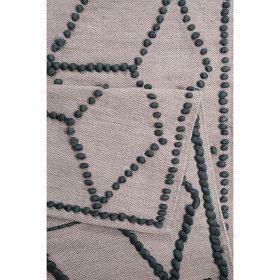 tapis moderne esprit fiesta taupe