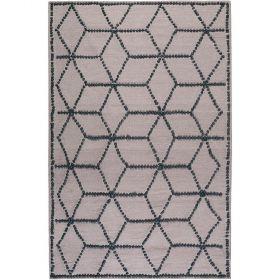 tapis moderne taupe fiesta esprit