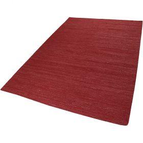 tapis kelim rainbow kelim rouge esprit