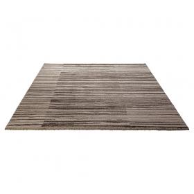 tapis moderne rayé beige esprit home corso