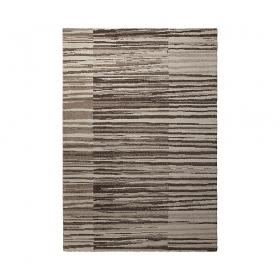 tapis rayé moderne beige corso esprit home