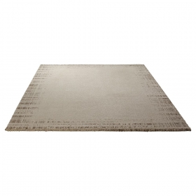 tapis moderne beige corso esprit home