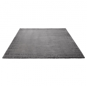tapis moderne gris corso esprit home