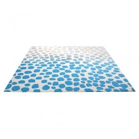 tapis moderne bleu snugs esprit home