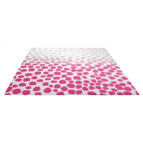tapis esprit home moderne rose snugs
