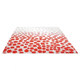 tapis moderne orange snugs esprit home