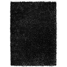 tapis shaggy noir esprit home cool glamour