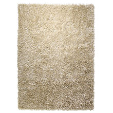 tapis shaggy cool glamour champagne esprit home
