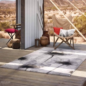 tapis esprit home gris night shade