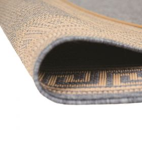 tapis moderne bleu lorenzo flair rugs