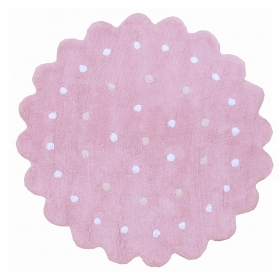 tapis enfant galletita rose lorena canals