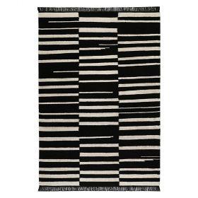 tapis carpets & co. moderne skid marks noir et blanc