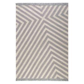 tapis carpets & co. moderne edgy corners gris et blanc