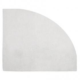 tapis enfant angle de mur gris clair 140x140 lilipinso