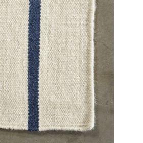 tapis moderne hazara angelo  bleu