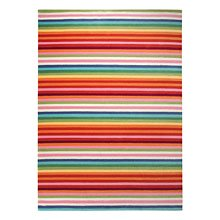 tapis rayé esprit home joy multicolore