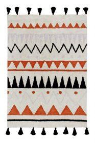 tapis enfant azteca natural - terracota lorena canals 120x160cm