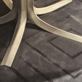 tapis moderne gris jules wabbes angelo