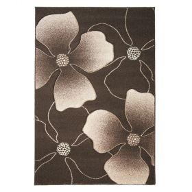 tapis moderne marron et beige jasmine flair rugs