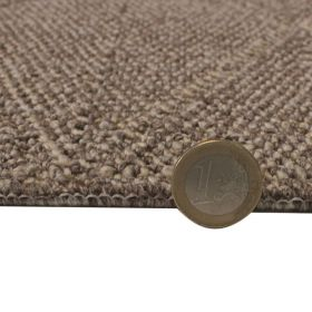 tapis de couloir flair rugs petronas marron