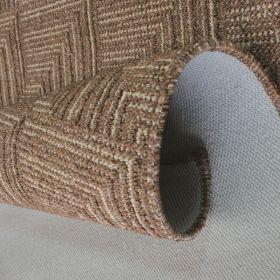 tapis de couloir marron foncé pinnacle flair rugs