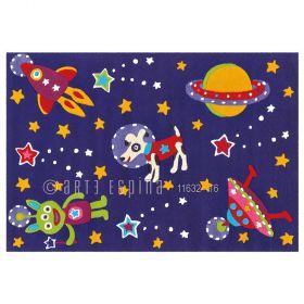 tapis enfant glowy arte espina ciel