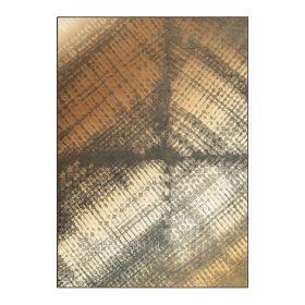 tapis beige et marron zodiac arte espina