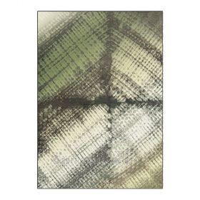 tapis vert et gris zodiac arte espina