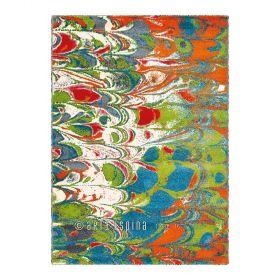 tapis moderne vert marble arte espina