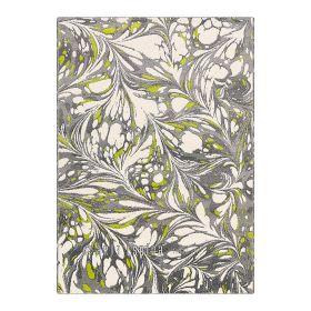 tapis gris moderne moire arte espina