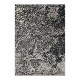 tapis noir moderne moon arte espina