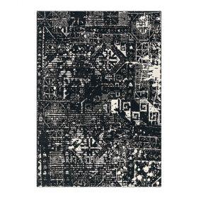 tapis noir orient arte espina
