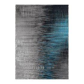 tapis bleu moderne screen arte espina